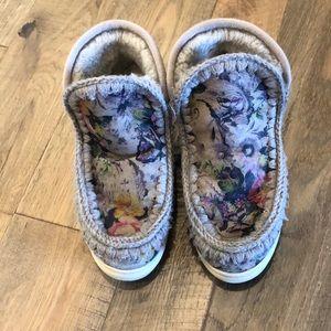 MOU Floral Boots